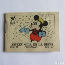 Tebeos: MICKEY GUIA EN LA NIEVE MINI CUENTO CALLEJA , ANTIGUO WALT DISNEY ORIGINAL 1936. Lote 66897654