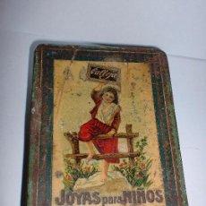 Tebeos: CAJA METALICA DE CUENTOS CALLEJA. JOYAS PARA NIÑOS. 11 X 8 X 2,5 CM. Lote 82507824