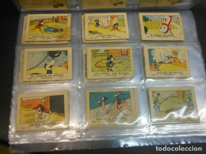Tebeos: MICKEY MOUSE JUGUETES INSTRUCTIVOS CALLEJA 100 CUENTOS MINIATURA AÑOS 1936 1942 1948 COMPLETA - Foto 2 - 72784099