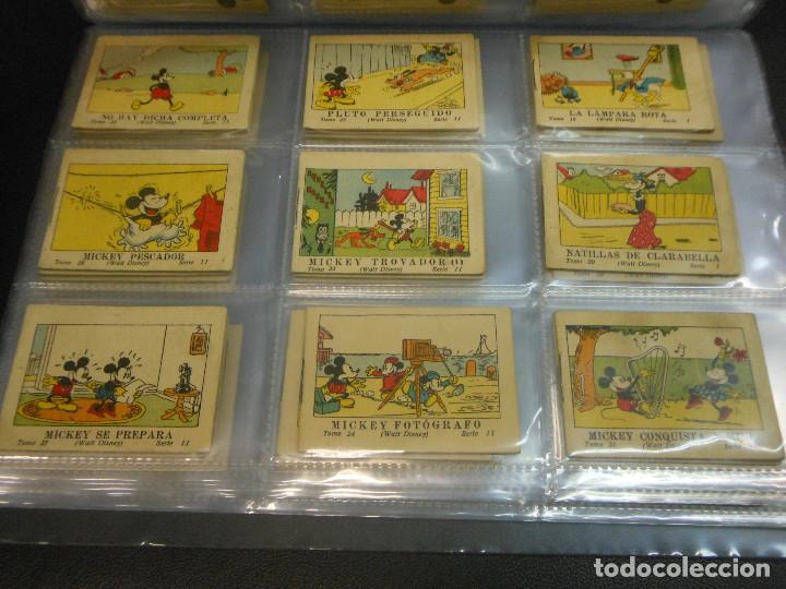 Tebeos: MICKEY MOUSE JUGUETES INSTRUCTIVOS CALLEJA 100 CUENTOS MINIATURA AÑOS 1936 1942 1948 COMPLETA - Foto 3 - 72784099