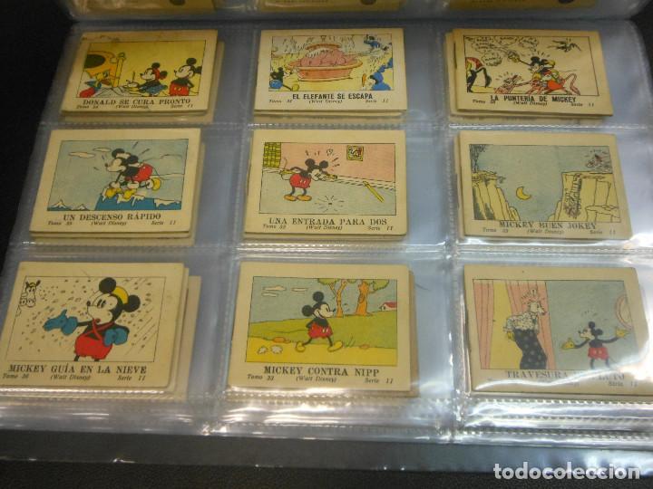 Tebeos: MICKEY MOUSE JUGUETES INSTRUCTIVOS CALLEJA 100 CUENTOS MINIATURA AÑOS 1936 1942 1948 COMPLETA - Foto 4 - 72784099