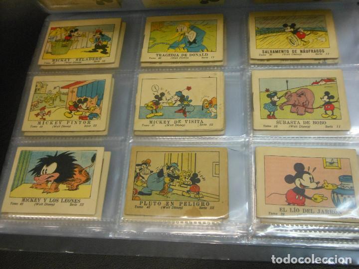 Tebeos: MICKEY MOUSE JUGUETES INSTRUCTIVOS CALLEJA 100 CUENTOS MINIATURA AÑOS 1936 1942 1948 COMPLETA - Foto 5 - 72784099