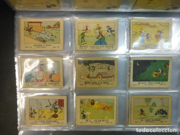 Tebeos: MICKEY MOUSE JUGUETES INSTRUCTIVOS CALLEJA 100 CUENTOS MINIATURA AÑOS 1936 1942 1948 COMPLETA - Foto 6 - 72784099