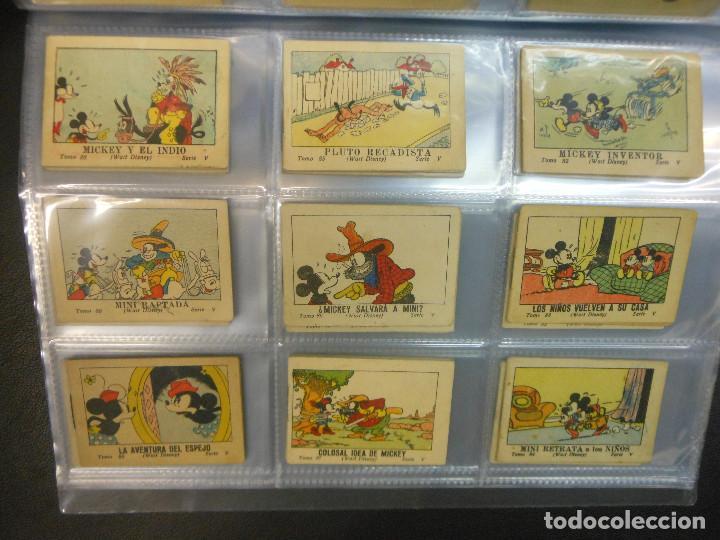 Tebeos: MICKEY MOUSE JUGUETES INSTRUCTIVOS CALLEJA 100 CUENTOS MINIATURA AÑOS 1936 1942 1948 COMPLETA - Foto 10 - 72784099