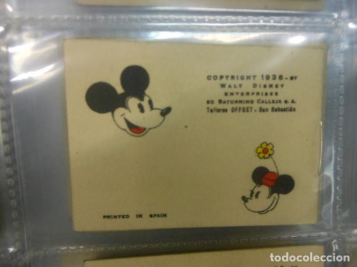 Tebeos: MICKEY MOUSE JUGUETES INSTRUCTIVOS CALLEJA 100 CUENTOS MINIATURA AÑOS 1936 1942 1948 COMPLETA - Foto 14 - 72784099