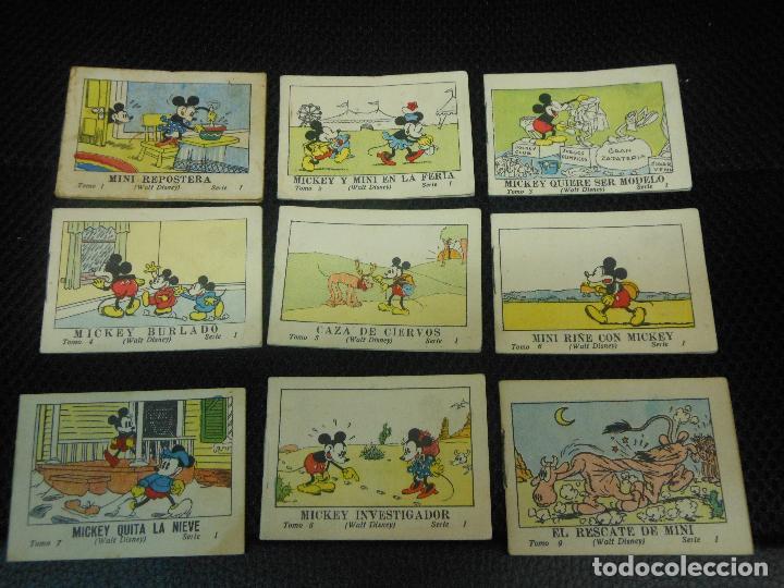 MICKEY MOUSE JUGUETES INSTRUCTIVOS CALLEJA 100 CUENTOS MINIATURA AÑOS 1936 1942 1948 COMPLETA (Tebeos y Comics - Calleja)