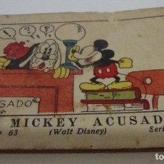 Tebeos: (TC-17) CUENTO JUGUETES INSTRUCTIVOS MICKEY MICKEY ACUSADO. Lote 77672037