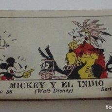 Tebeos: (TC-17) CUENTO JUGUETES INSTRUCTIVOS MICKEY MICKEY Y EL INDIO. Lote 77672057