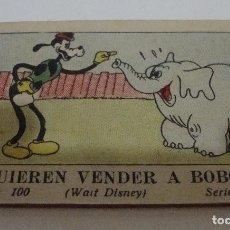 Tebeos: (TC-17) CUENTO JUGUETES INSTRUCTIVOS MICKEY QUIEREN VENDER A BOBO ULTIMO NUMERO COLECCION. Lote 77672093