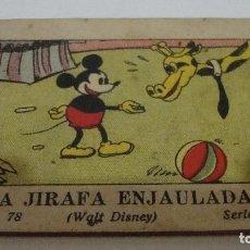 Tebeos: (TC-17) CUENTO JUGUETES INSTRUCTIVOS MICKEY LA JIRAFA ENJAULADA. Lote 77672145