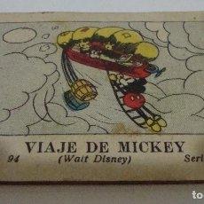 Tebeos: (TC-17) CUENTO JUGUETES INSTRUCTIVOS MICKEY VIAJE DE MICKEY. Lote 77672153