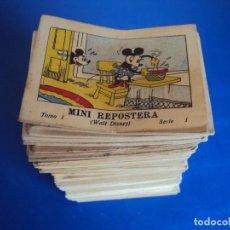 Tebeos: (RE-170235)MICKEY MOUSE JUGUETES INSTR. CALLEJA 100 CUENTOS MINIATURA AÑOS 1936-1942-1948 COMPLETA. Lote 77734861