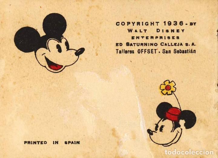 Tebeos: MICKEY (WALT DISNEY) 1936 MADRID ED. SATURNINO CALLEJA, S.A. VALENCIA, 26 ED. SATURNINO CALLEJA - Foto 3 - 82206664