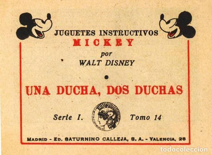 Tebeos: MICKEY (WALT DISNEY) 1936 MADRID ED. SATURNINO CALLEJA, S.A. VALENCIA, 26 ED. SATURNINO CALLEJA - Foto 4 - 82206664