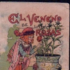 Tebeos: 'EL VENENO DE LAS ROSAS'. CUENTOS DE CALLEJA, SERIE 13 - TOMO 250. 5 X 7 CM. COMO NUEVO.. Lote 87270952