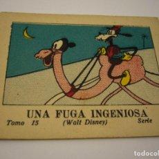 Tebeos: JUGUETES INSTRUCTIVOS MICKEY . CALLEJA , UNA FUGA INGENIOSA .TOMO 15 SERIE 1. Lote 87564176