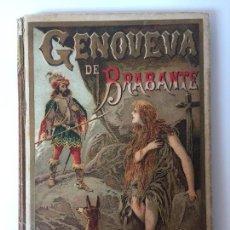 Tebeos: GENOVEVA DE BRABANTE S. CALLEJA ( SIGLO XIX ). Lote 89578112