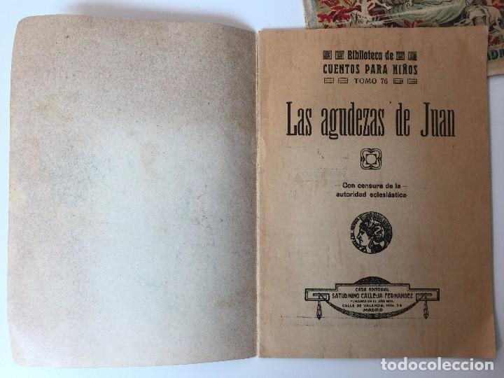 Tebeos: 4 LIBRITOS S. CALLEJA (SIGLO XIX) CUENTO DE CUENTOS, LAS AGUDEZAS DE JUAN, LA SENDA DE LA FORTUNA.. - Foto 8 - 89594592