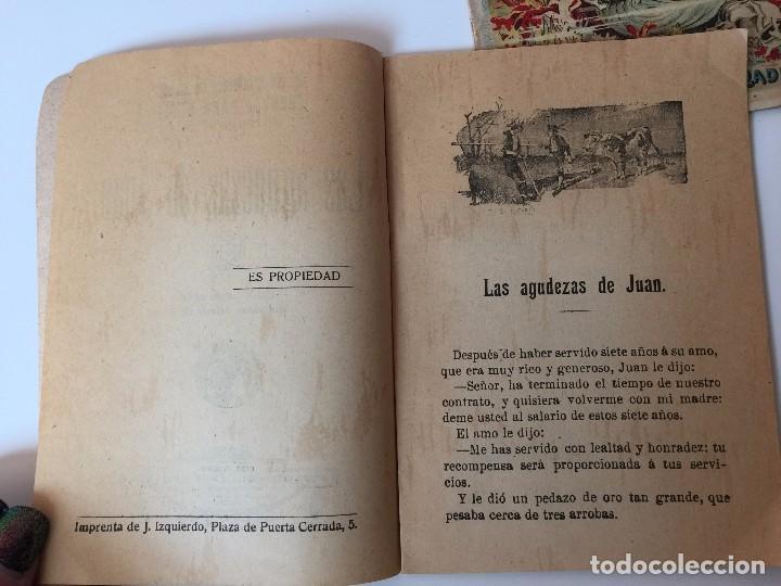 Tebeos: 4 LIBRITOS S. CALLEJA (SIGLO XIX) CUENTO DE CUENTOS, LAS AGUDEZAS DE JUAN, LA SENDA DE LA FORTUNA.. - Foto 9 - 89594592