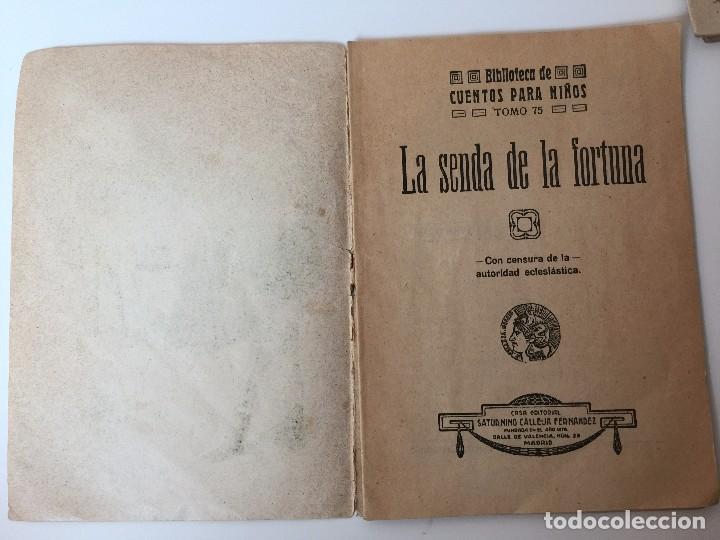 Tebeos: 4 LIBRITOS S. CALLEJA (SIGLO XIX) CUENTO DE CUENTOS, LAS AGUDEZAS DE JUAN, LA SENDA DE LA FORTUNA.. - Foto 10 - 89594592