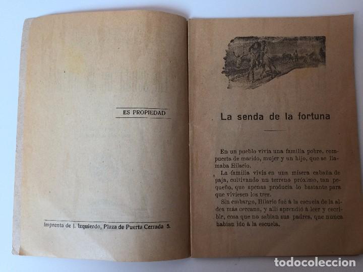 Tebeos: 4 LIBRITOS S. CALLEJA (SIGLO XIX) CUENTO DE CUENTOS, LAS AGUDEZAS DE JUAN, LA SENDA DE LA FORTUNA.. - Foto 11 - 89594592