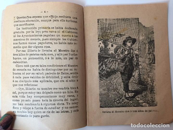 Tebeos: 4 LIBRITOS S. CALLEJA (SIGLO XIX) CUENTO DE CUENTOS, LAS AGUDEZAS DE JUAN, LA SENDA DE LA FORTUNA.. - Foto 12 - 89594592
