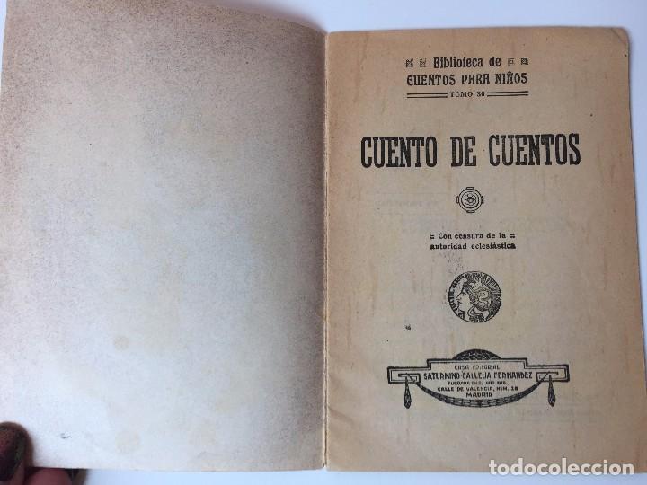 Tebeos: 4 LIBRITOS S. CALLEJA (SIGLO XIX) CUENTO DE CUENTOS, LAS AGUDEZAS DE JUAN, LA SENDA DE LA FORTUNA.. - Foto 13 - 89594592