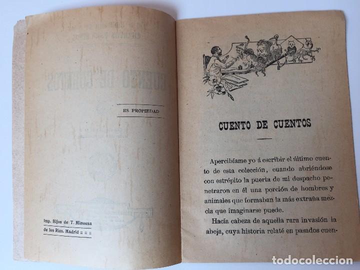 Tebeos: 4 LIBRITOS S. CALLEJA (SIGLO XIX) CUENTO DE CUENTOS, LAS AGUDEZAS DE JUAN, LA SENDA DE LA FORTUNA.. - Foto 14 - 89594592