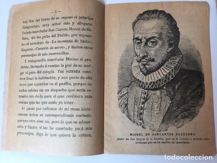 Tebeos: 4 LIBRITOS S. CALLEJA (SIGLO XIX) CUENTO DE CUENTOS, LAS AGUDEZAS DE JUAN, LA SENDA DE LA FORTUNA.. - Foto 15 - 89594592
