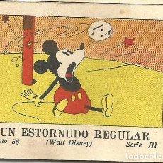Tebeos: WALT DISNEY - UN ESTORNUDO REGULAR (Nº56) CALLEJA 1936 MICKEY. Lote 90233502