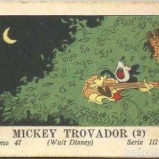 Tebeos: WALT DISNEY - MICKEY TROVADOR 2 (Nº47) CALLEJA 1936. Lote 90233912
