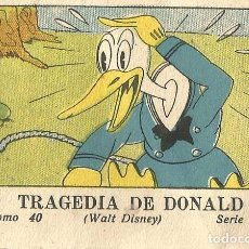Tebeos: WALT DISNEY - TRAGEDIA DE DONALD (Nº40) CALLEJA 1936 MICKEY. Lote 90234143