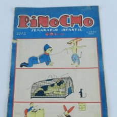 Tebeos: PINOCHO Nº 50. EDITORIAL CALLEJA, 31 DE ENERO 1926. TIENE 20 PAG, MIDE 34 X 22 CMS.. Lote 91799920