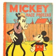 Tebeos: TEBEO AVENTURAS DE MICKEY Nº 9: MICKEY HACE PROEZAS. SATURNINO CALLEJA AÑOS 30 MADRID. Lote 94224345