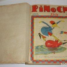 Tebeos: TEBEOS ENCUADERNADOS DE PINOCHO. 1929. CALLEJA. DESDE EL Nº 189 AL 228.. Lote 94310554