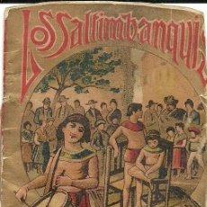 Tebeos: LOS SALTIMBANQUIS - JOYAS PARA NIÑOS DE S. CALLEJA. SERIE I TOMO 18. PUBLICIDAD THE UNION OVERSHOE . Lote 95772419