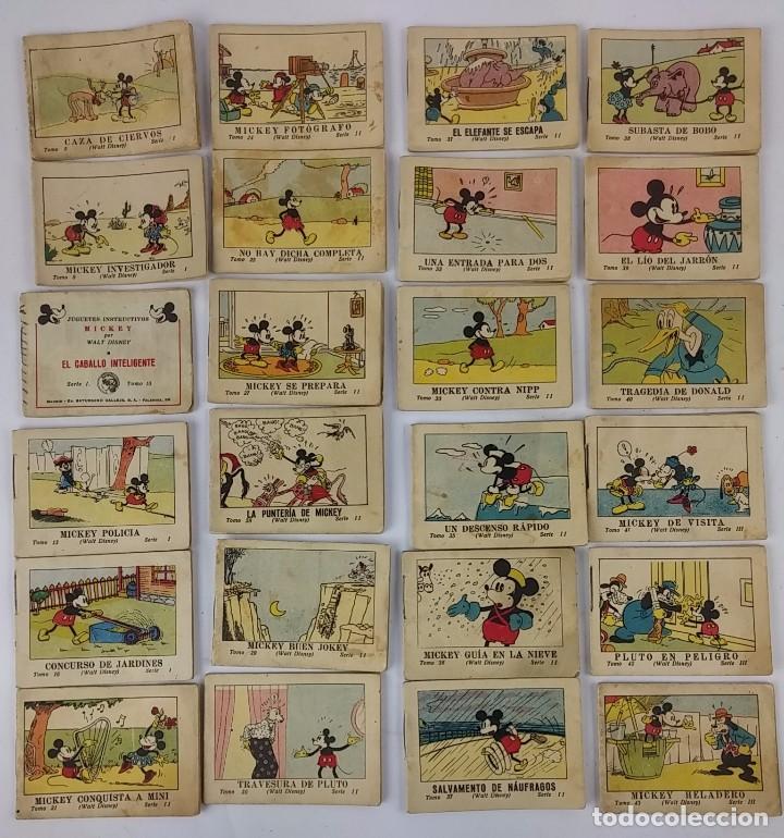 COLECCIÓN DE CUENTOS CALLEJA. JUGUETES INSTRUCTIVOS MICKEY. AÑO 1936. SON 75 CUENTOS DE LOS 100 QUE (Tebeos y Comics - Calleja)
