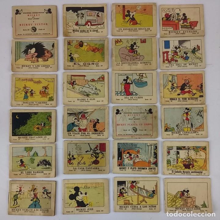 Tebeos: COLECCIÓN DE CUENTOS CALLEJA. JUGUETES INSTRUCTIVOS MICKEY. AÑO 1936. SON 75 CUENTOS DE LOS 100 QUE - Foto 2 - 95808003