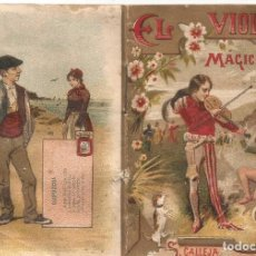 Tebeos: CUENTO S CALLEJA EL VIOLIN MAGICO JOYAS PARA NIÑOS SERIE IV TOMO 72 ILUSTRADO AÑO 1920. Lote 99270179