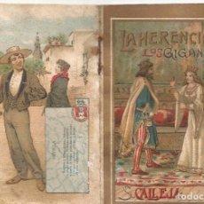 Tebeos: CUENTO S CALLEJA LA HERENCIA DE GIGANTES JOYA PARA NIÑOS SERIE V TOMO 91 ILUSTRADO AÑO 1920. Lote 99270331