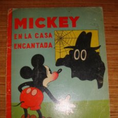 Tebeos: (TC-47) MICKEY EN LA CASA ENCANTADA ED. SATURNINO CALLEJA 1934. Lote 101045775
