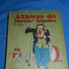 Tebeos: (M) LIBRO ALBUM DE PINTURAS INFANTILES EDT SATURNINO CALLEJA , MADRID , CONTIENE 8 NUMEROS. Lote 102814275
