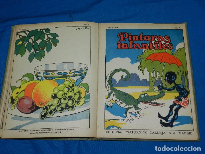 Tebeos: (M) LIBRO ALBUM DE PINTURAS INFANTILES EDT SATURNINO CALLEJA , MADRID , CONTIENE 8 NUMEROS - Foto 11 - 102814275