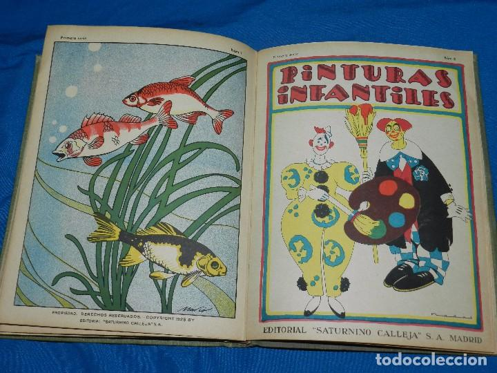 Tebeos: (M) LIBRO ALBUM DE PINTURAS INFANTILES EDT SATURNINO CALLEJA , MADRID , CONTIENE 8 NUMEROS - Foto 12 - 102814275