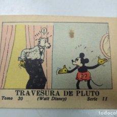 Tebeos: WALT DISNEY - TRAVESURA DE PLUTO (Nº30) CALLEJA 1936. Lote 103448751