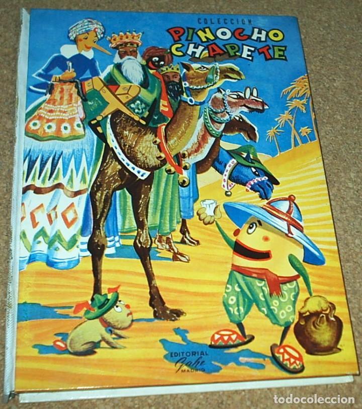 PINOCHO Y CHAPETE COLECCION - TOMO Nº 3 - GAHE 1963- CON 6 NOS. DEL 13 AL 18- REBAJADO- (Tebeos y Comics - Calleja)