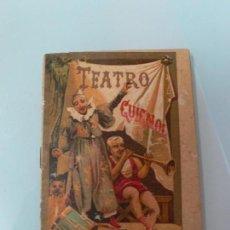 Tebeos: TEATRO DEL GUIGNOL , LEYENDAS MORALES CALLEJA 1915. Lote 107832371