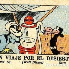 Tebeos: WALT DISNEY. JUGUETES INSTRUCTIVOS MICKEY. SERIE III Nº 53. UN VIAJE POR EL DESIERTO.. Lote 109300275