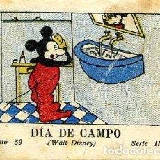Tebeos: WALT DISNEY. JUGUETES INSTRUCTIVOS MICKEY. SERIE III Nº 59. DIA DE CAMPO.. Lote 109300787