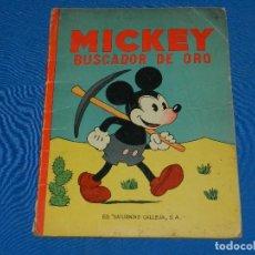 Tebeos: (M) MICKEY MOUSE - MICKEY BUSCADOR DE ORO , EDT SATURNINO CALLEJA 1933. Lote 117187399